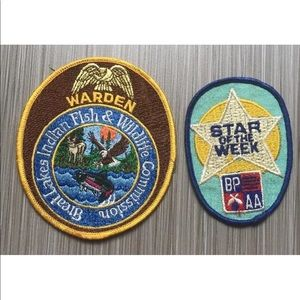Vintage Lot of 2 patches